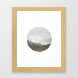 Lindis Pass II Framed Art Print