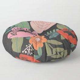 Floral Guache Floor Pillow