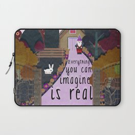 Everything you can imagine is real 9 Laptop Sleeve