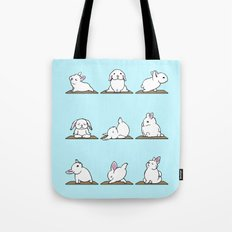 Bunnies Yoga Tote Bag