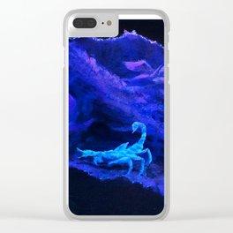 Scorpion Terrarium Clear iPhone Case