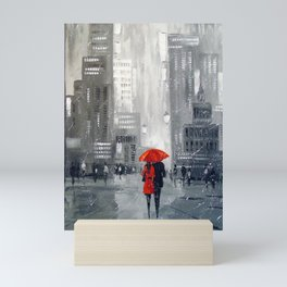 Together in new York Mini Art Print