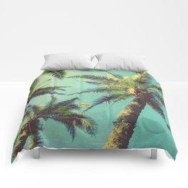 Palm Trees (Edited) Comforters