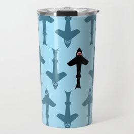 Shark Kite Travel Mug