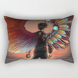 MISMATCHED WINGS Rectangular Pillow