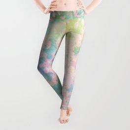 Pastel peeled off paint Leggings