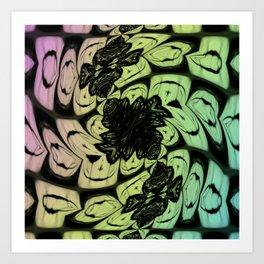 Wonderland Pattern Art Print
