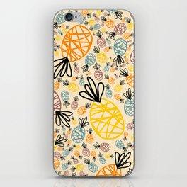 A Pineapple Summer iPhone Skin