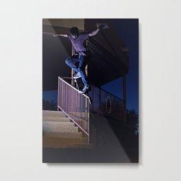 Backside Overcrook Metal Print