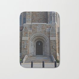 Old West End Our Lady Queen of the Most Holy Rosary Cathedral Door II-vertical Bath Mat