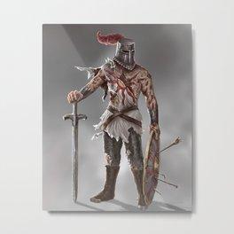 Dark Souls II Metal Print