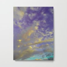 Candy Clouds Metal Print