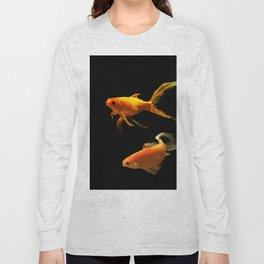 Golden fish Long Sleeve T-shirt