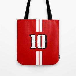 Ten jersey number Tote Bag