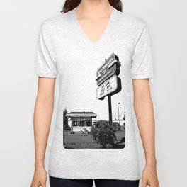 Best Burgers Drive-In Unisex V-Neck