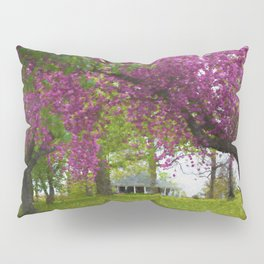 Cherry Blossom Trees in Richmond Pillow Sham
