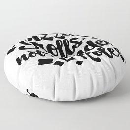 How I Roll Floor Pillow