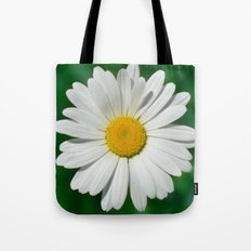 Daisy Macro White 251 Tote Bag