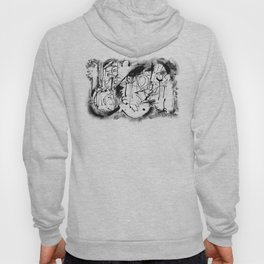 Free Your Spirit - b&w Hoody