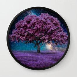 Galaxy Tree Wall Clock