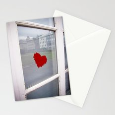 found heart Stationery Cards