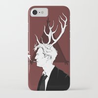 true detective iPhone & iPod Cases featuring True Detective by Burcu Aycan