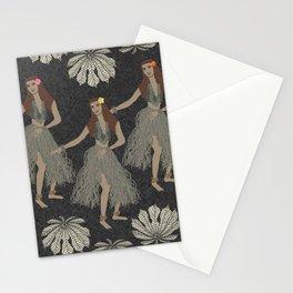 Hula Girls Stationery Cards