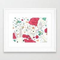 easter Framed Art Prints featuring Easter by Devin McGrath