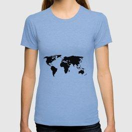 World Outline T-shirt