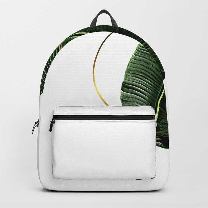 Minimalist Nature II. Graphic Design. Hybrydus. Backpack