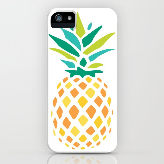 summer pineapple iphone case