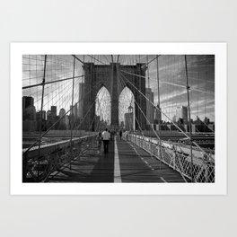 Bridge Lines Art Print