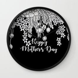 Psithurism - Happy Mother's Day Wall Clock