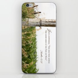 Sow the Good Seed iPhone Skin