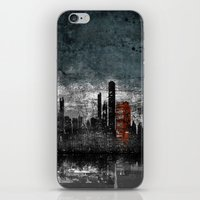 Dark Blue iPhone & iPod Skin