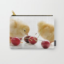 Sweet Chick and red Cherry Carry-All Pouch