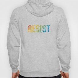 Resist Awesome LGBT Lesbian Gay Bisexual Transgender Gender Equality Gift Hoody
