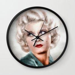 Jean Harlow by JS Wall Clock