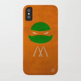 TMNT Mikey poster iPhone Case