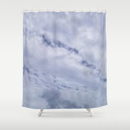 Blue Crawler Shower Curtain