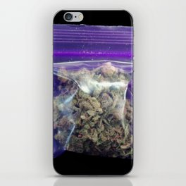 gram of cannabis iPhone Skin