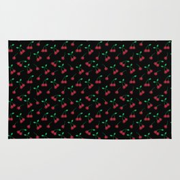 C is for Cherry #ABCFruits&Veggies Rug