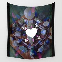 Lunar Love Wall Tapestry