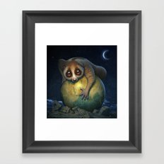 Loris Planet Framed Art Print