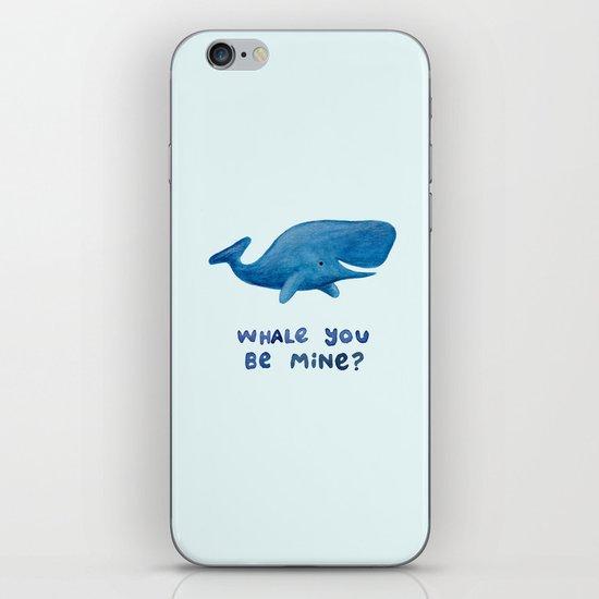 Whale You Be Mine? iPhone & iPod Skin