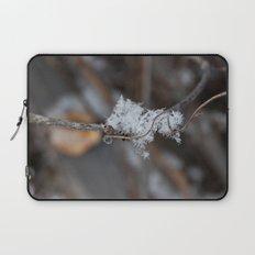 Delicate Snowflake Laptop Sleeve