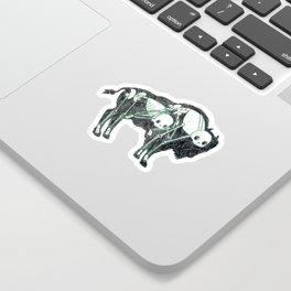 Bison Animus Sticker