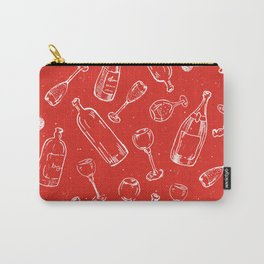 Bottles & Glasses Carry-All Pouch