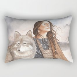 Makawee - A Compendium Of Witches Rectangular Pillow