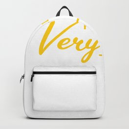 Hello Very Hot Time Surfer or Beach Goer Gift Backpack